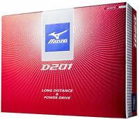 Mizuno D201 New Golf ball White Orange 1 dozen 12 pieces Free Ship From Japan