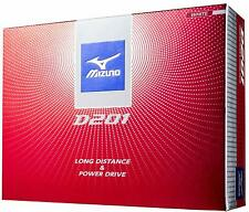 Mizuno D201 New Golf ball White Orange 1 dozen 12 pieces Free Ship From Japan