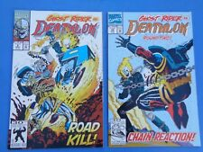 "Marvel Comics: ""DEATHLOK (1992)"" # 9 & 10 (vs. Ghost Rider) New/Great Condition"