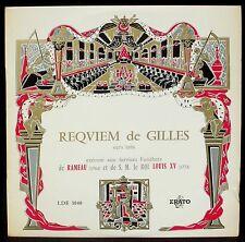 Jean Gilles Requiem Frémaux LDE 3040 Charlin green label LP NM, CV EX