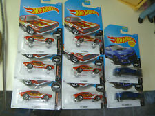 HOT WHEELS LOT OF 8 new 2017 67 CAMARO ZL1 RED BLUE