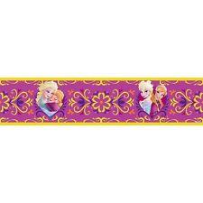 Disney Frozen Elsa & Anna 5m Tapete Bordüre Kinder Schlafzimmer Wand Dekoration