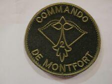 ECUSSON COMMANDOS MARINE COMMANDO DE MONTFORT GROUPE 2 SUR VELCROS