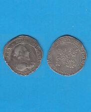 Henri III  (1574-1589  ) Demi Franc d'argent de Troyes 1588 ?
