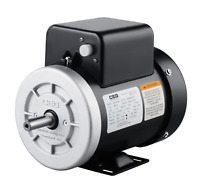 NEMA Electric Motor Single phase 0.75kw 1hp 2880rpm frame 56 with NEMA flange