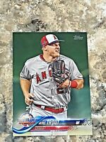 2018 Topps Update Mike Trout #US176 Los Angeles Angels MLB Baseball Card