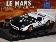 FORD GT40 #2 MCLAREN / AMON / BIANCHI LE MANS 1966 IXO LMC138 1/43