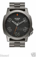 Nixon Original Ranger 45 A521-1531 Gunmetal / Black 45mm Watch