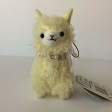 AMUSE Dreamy Alpacasso Yellow Llama (8cm) Arpakasso Alpaca Plush Japan NWT