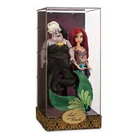 DISNEY ARIEL AND URSULA LIMITED EDITION DESIGNER DOLL SET--NEW