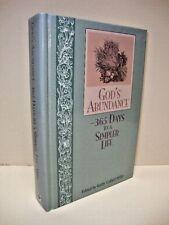 God's Abundance: 365 Days to a Simpler Life by Kathy Collard Miller