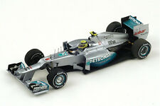 MERCEDES AMG W03 n° 8 Vainqueur GP F1 Chine 2012 Nico Rosberg