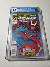 Spider-Man Unlimited 1 CGC 9.6 NEWSSTAND Marvel Comic 5/93 Maximum Carnage...