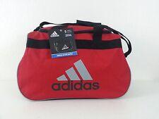 NWT ADIDAS Diablo Small Duffel Bag Sport Gym Travel Carry On Red/Black/Gray