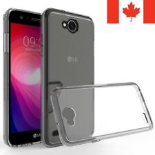 For LG X Power 2 Case - Crystal Clear Thin Soft TPU Transparent Back Cover