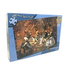"""MasterPieces Puzzle 1000 Piece Jigsaw """"Intertribal Council"""" by Craig Tennant"""