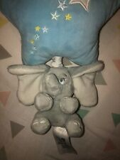 Disney Store Blue Dumbo musical cot mobile Working Soft Plush Twinkle Twinkle