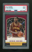 KYRIE IRVING 2012 Panini ROOKIE RC Cleveland Cavaliers Brooklyn Nets PSA 9 MINT