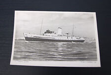 Postcard of T.S.S Empress Queen Ship (5)