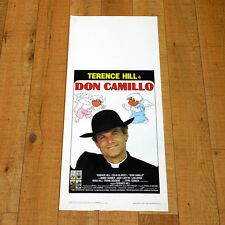 DON CAMILLO locandina poster Terence Hill Colin Bakeley Peppone Guareschi AA26