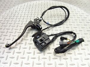 2017 17-18 Kawasaki ZX636 ZX6R Ninja 636 Lot Left Handlebar Switch Clutch Perch