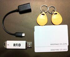 Mini RFID 125KHz Proximity Door Control Entry Access Card Reader USB