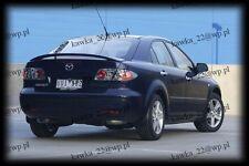 Mazda 6 Hatchback [GG, MK I/1, 2002-2008] Rear Boot Spoiler ~PRIMED & PREPARED~