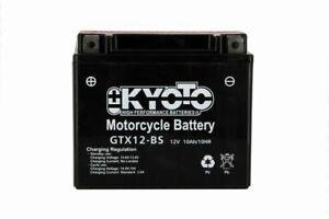 BATTERIE MOTO KYOTO SANS ENTRETIEN YTX12-BS GTX12-BS