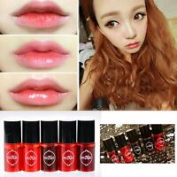 Korean Waterproof Lipstick Colorful Liquid Lip Gloss Water Tint Cosmetic Make up
