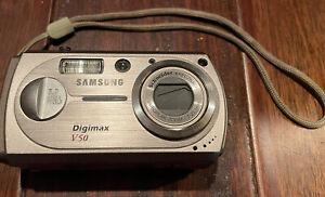Samsung Digimax V50 5MP Digital Camera with 3x Optical Zoom