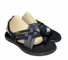 Teva NWT Women's Black Voya Strappy Sandals Size 7