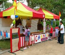 Carnival Game Booths for Sale 10x10 Ez-up Canopy with 3 sides