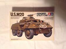 tanque Tank U.S. M20 Armored Utility Car, Tamiya