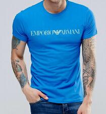 EMPORIO ARMANI Designer blue t-shirt,Slim fit, Size M, L, XL