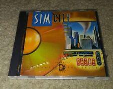Sim City the Original Simulator Enhanced CD-ROM for DOS