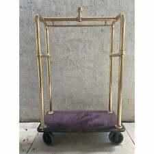 Vintage Hotel Rolling Valet Cart