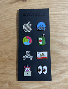 NEW! Apple WWDC20 Set of 8 Pins * Never Opened * Rare * Limited Edition Sealed
