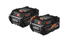 AEG 18V 6.0Ah Force Battery - Twin Pack