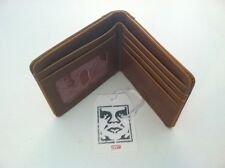 New OBEY Worldwide Bi Fold Casual Street Daily Casual Red Spotted Men's Wallet