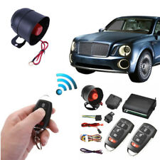 Car Vehicle 2 Remote Central Kit Door Locking Keyless Entry Alarm Burglar System