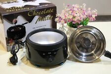 Stainless Steel Chocolate Melting Furnace Fondue Fountain Machine Pot 220V