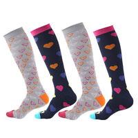 KE_ HOT Unisex Sports Compression Socks Running Tightening Leg Pressure Stocki