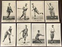 1917 Collins-McCarthy Brooklyn Nationals Dodgers Reprint Set E-135 Casey Stengel