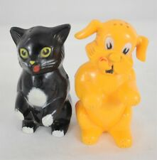 Vintage Fifi and Fido Salt and Pepper Shakers