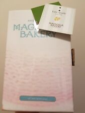 Kate Spade Magnolia Bakery Recipe Book Clutch Pink NWT - small defect