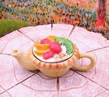 Miniature Fairy Garden Pie Teapot #1 - Buy 3 Save $5