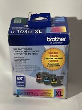 Brother Ink Cartridges (LC103CL XL) Magenta Cyan Yellow Exp.01/2023