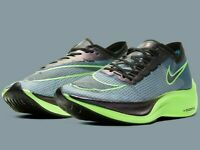 Nike ZoomX Vaporfly NEXT% - Valerian Blue / Green - Sizes 5-14UK CD4568-400