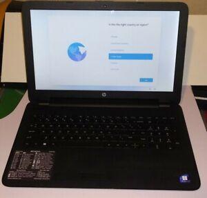 "Windows 11 OS HP Notebook Quad Core 2 GHz AMD A6"" 500 HDD 8GB Ram Light Gaming"