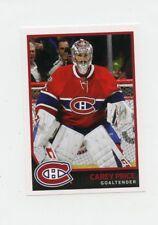 17/18 PANINI NHL STICKER #99 CAREY PRICE CANADIENS *40463